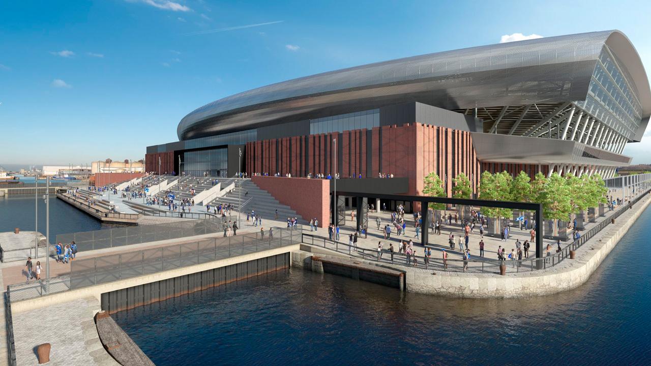 เอฟเวอร์ตัน ปักหมุดเริ่มสร้างสนามกีฬาแห่งใหม่วันที่ 26 เดือนนี้